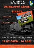 Futbalový zápas žiakov